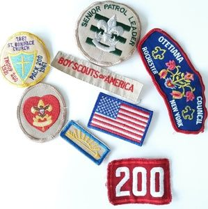 1960's Vintage Boy Scouts of America Patch Lot /9